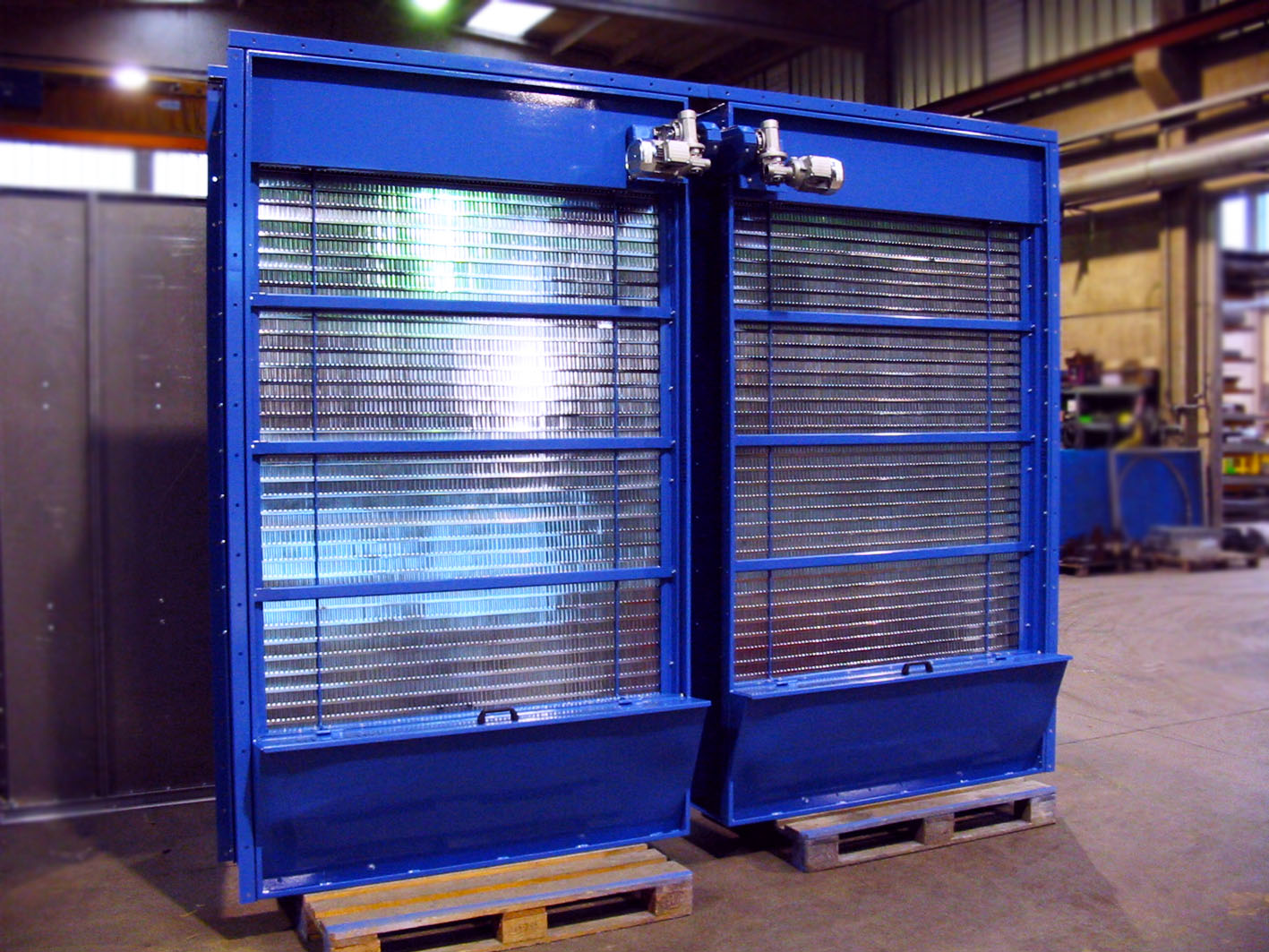 Viscous Air Filter For Large Air Volumes Fti